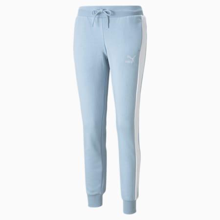 Iconic T7 Women's Track Pants, Blue Fog, small-GBR