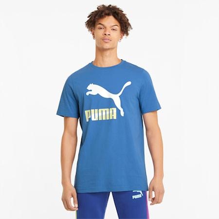 Camiseta Classics con logo para hombre, Star Sapphire, pequeño