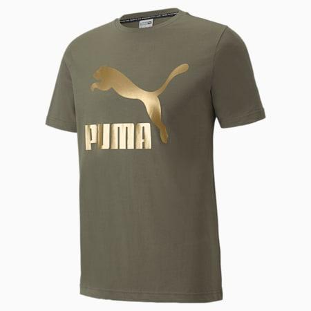Camiseta Classics con logo para hombre, Grape Leaf, pequeño