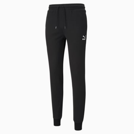 Pantalones deportivos Classics con puños para hombre, Puma Black, pequeño