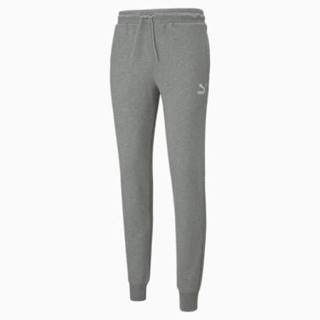 Pantalones deportivos Classics con puños para hombre, Medium Gray Heather, pequeño