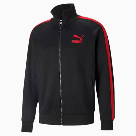 Iconic T7 Men's Track Jacket, Puma Black, small-GBR