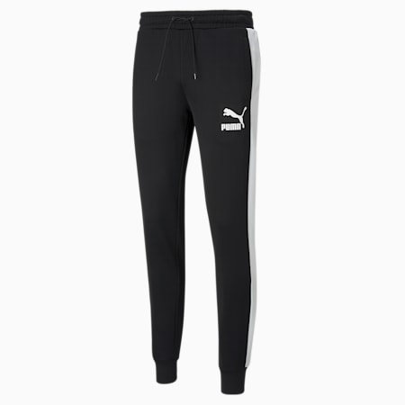 Pantalones de chándal T7 Iconic para hombre, Puma Black, small