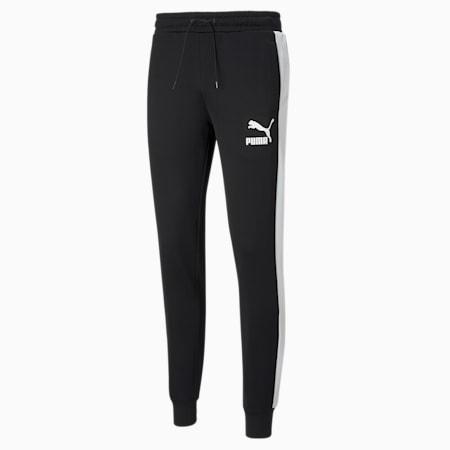 Iconic T7 Men's Track Pants, Puma Black, small-IND