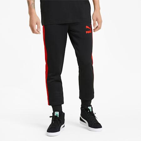 Męskie spodnie dresowe Iconic T7, Puma Black, small