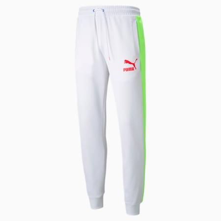 Pantalon de survêtement Iconic T7 homme, Puma White-Spectra, small