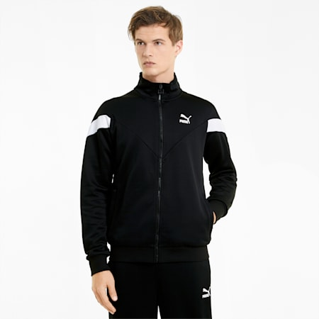 Giacca sportiva Iconic MCS uomo, Puma Black, small
