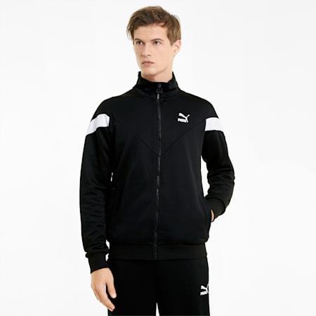 Męska kurtka dresowa Iconic MCS, Puma Black, small
