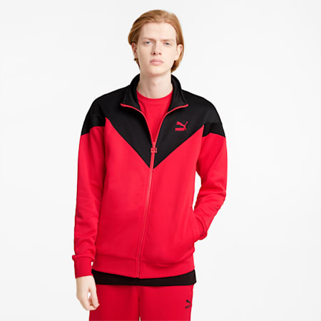 Iconic MCS Men's Track Jacket, High Risk Red, small-GBR
