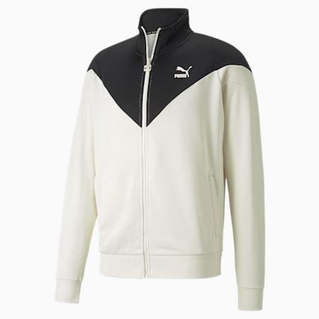 Iconic MCS Men's Track Jacket, Ivory Glow, small