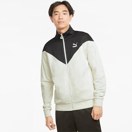 Iconic MCS Men's Track Jacket, Ivory Glow, small-GBR
