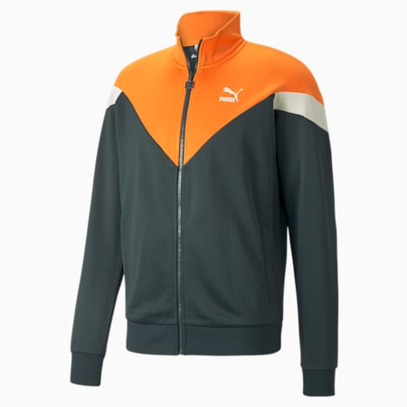 Iconic MCS Men's Track Jacket, Green Gables, small