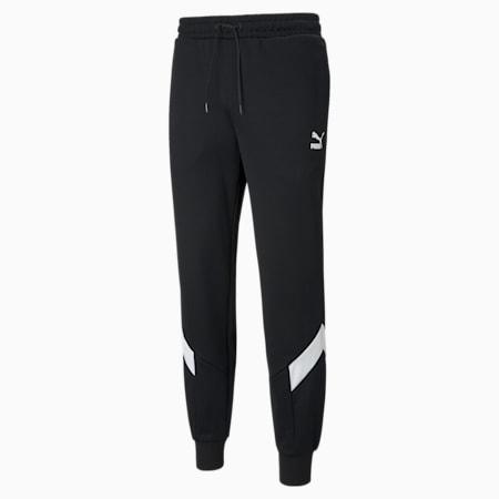 Iconic MCS Men's Track Pants, Puma Black, small-IND