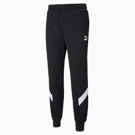 Pantalones deportivos Iconic MCS de hombre, Puma Black, pequeño
