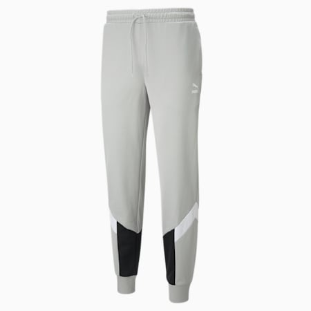 Iconic MCS Men's Track Pants, Gray Violet, small-IND