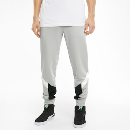 Iconic MCS Men's Track Pants, Gray Violet, small