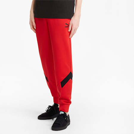 Iconic MCS Men's Track Pants, High Risk Red, small-GBR