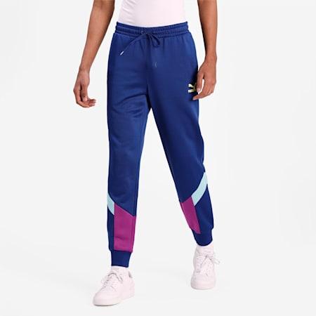 Iconic MCS Men's Track Pants, Elektro Blue, small-IND