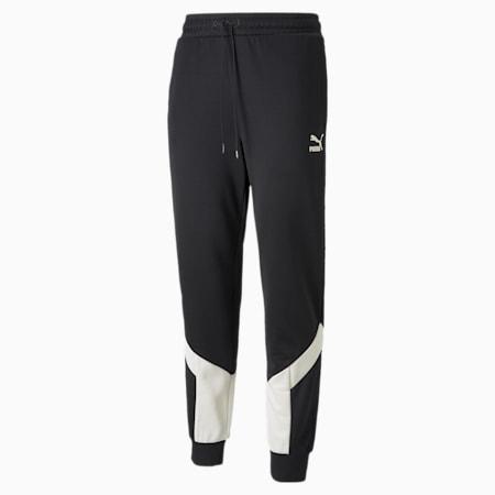 Iconic MCS Men's Track Pants, Puma Black-Ivory Glow, small