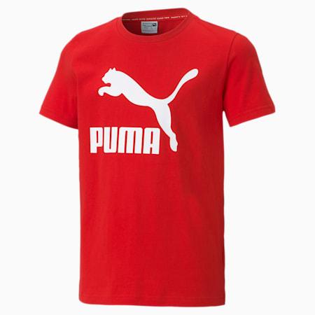 Młodzieżowy T-shirt Classics B, High Risk Red, small