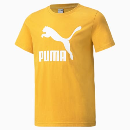 Classics B Youth Tee, Mineral Yellow, small