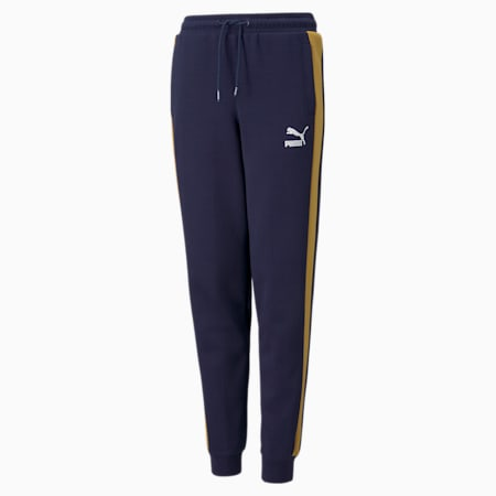 Pantalon de survêtement emblématique T7 pour garçon, Bleu , petit