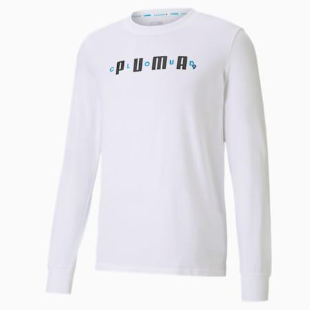 PUMA x CLOUD9 One Hit KO Men's Tee, Puma White, small