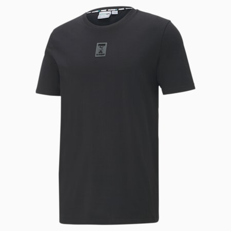 CLD9 GTG All Set Men's Tee, Cotton Black, small-SEA