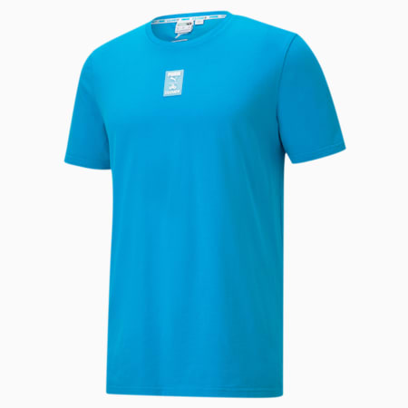 CLD9 GTG All Set Men's Tee, Hawaiian Ocean, small