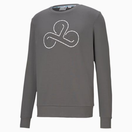 CLD9 Disconnect Men's Crew Neck Pullover, Smoked Pearl, small-IND