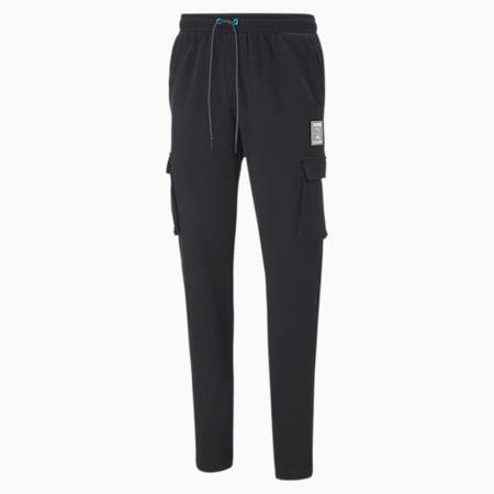 Męskie spodnie cargo CLD9 GTG All Set, Cotton Black, small