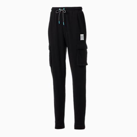 PUMA x CLOUD9 GTG All Set Men's Cargo Pants, Cotton Black, small