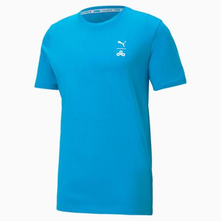 CLD9 Corrupted T-shirt voor heren, Hawaiian Ocean, small