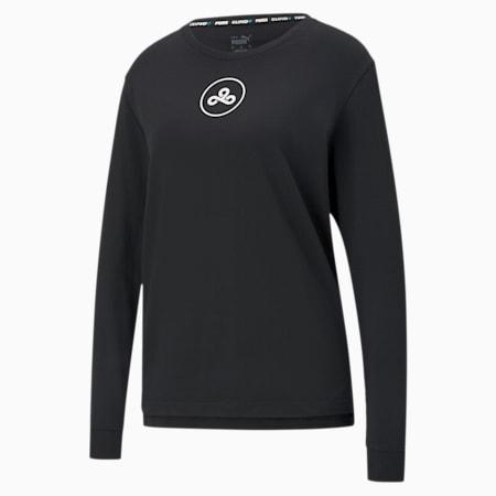 T-Shirt CLD9 pour femme, Cotton Black, small