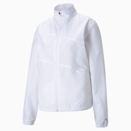 퍼스트 마일 윈드 자켓 바람막이/W First Mile Wind Jacket, Bright White, small-KOR