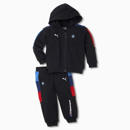 BMW M Motorsport T7 Babies' Jogging Suit, Puma Black, small
