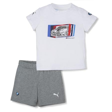 Conjunto BMW M Motorsport para bebés, Puma White, small