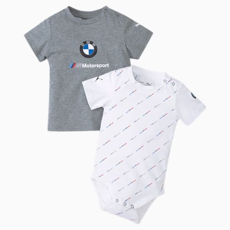 BMW M Motorsport Babies' Pack, Puma White, small