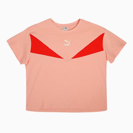 GRL Kid's   T-shirt, Apricot Blush, small-IND