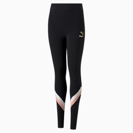 GRL Youth Leggings, Puma Black, small