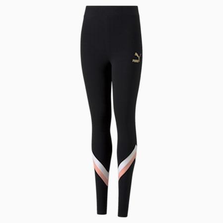 Młodzieżowe legginsy GRL, Puma Black, small