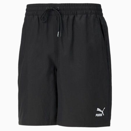 """Classics Logo 8"""" Men's Shorts, Puma Black, small-IND"""