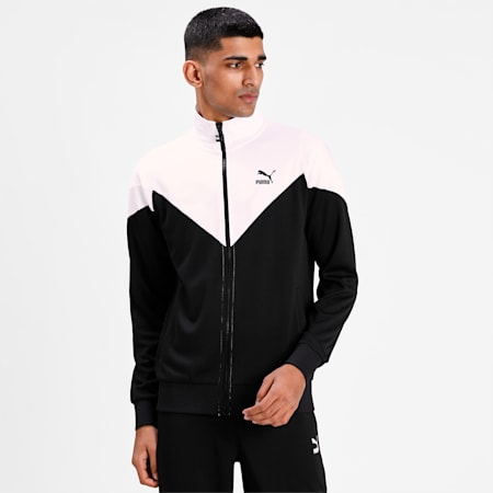 Iconic MCS Mesh Men's Track Jacket, Puma Black, small-IND