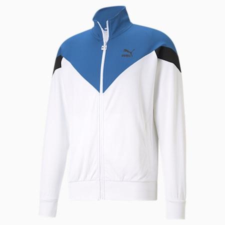 Iconic MCS Mesh Men's Track Jacket, Puma White, small-IND