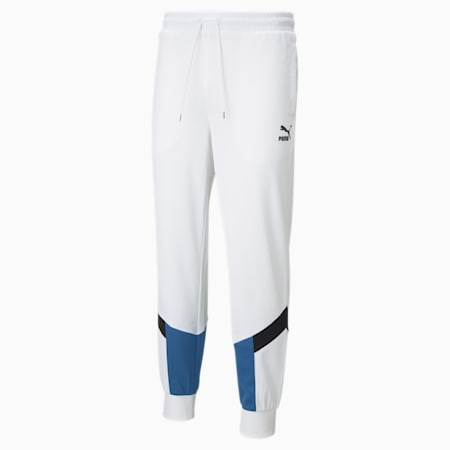 Pantalon de survêtement en mesh Iconic MCS homme, Puma White, small