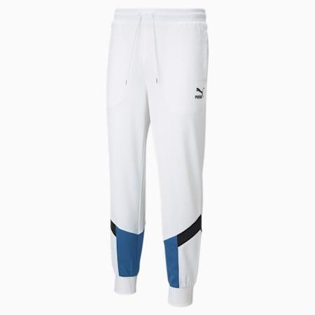 Pantalon de survêtement en maille Iconic MCS, homme, Blanc Puma, petit