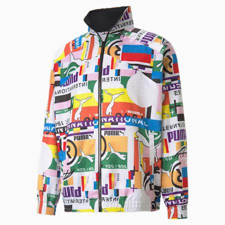 PUMA International Lab Woven Men's Track Jacket, Puma White, small-SEA