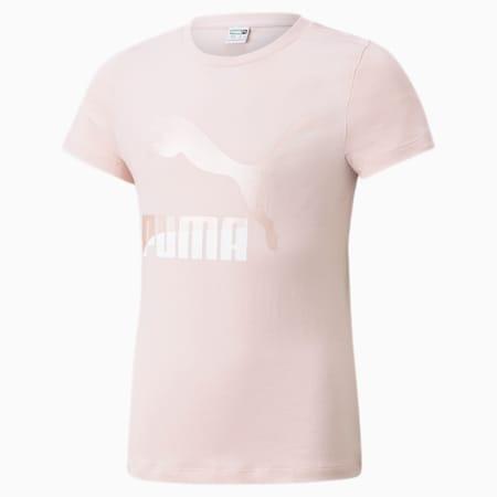 Młodzieżowy T-shirt z logo Classics, Lotus, small