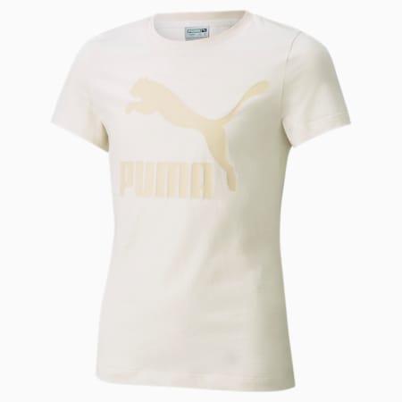 Młodzieżowy T-shirt z logo Classics, no color, small