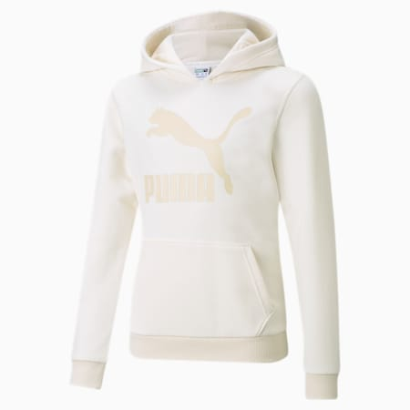 Classics Logo Youth Hoodie, no color, small